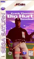 Frank Thomas Big Hurt Baseball SEGA Saturn Front Cover