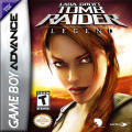 Lara Croft Tomb Raider: Legend Game Boy Advance Front Cover