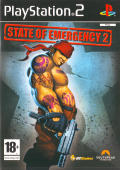 State of Emergency 2 PlayStation 2 Front Cover