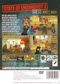 State of Emergency 2 PlayStation 2 Back Cover