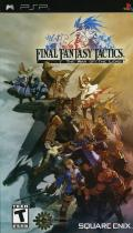 Final Fantasy Tactics PSP Front Cover