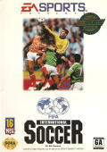 FIFA International Soccer Genesis Front Cover