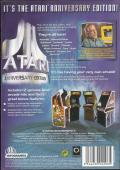 Atari Anniversary Edition Windows Back Cover