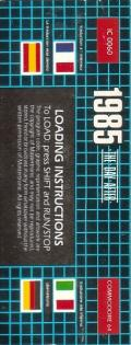 1985: The Day After Commodore 64 Back Cover