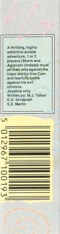 Storm Commodore 64 Back Cover
