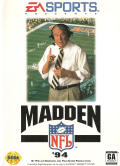 Madden NFL '94 Genesis Front Cover
