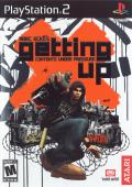 Marc Ecko's Getting Up: Contents Under Pressure PlayStation 2 Front Cover