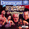 ECW Anarchy Rulz Dreamcast Front Cover