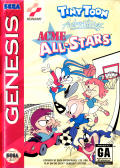 Tiny Toon Adventures: Acme All-Stars Genesis Front Cover