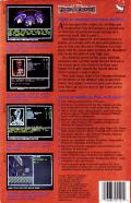 Curse of the Azure Bonds DOS Back Cover