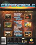 Millennium Soldier: Expendable Windows Back Cover
