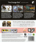 The Orange Box PlayStation 3 Back Cover