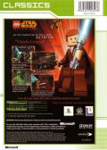 LEGO Star Wars: The Video Game Xbox Back Cover