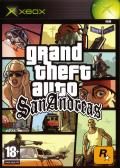 Grand Theft Auto: San Andreas Xbox Front Cover