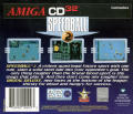 Speedball 2: Brutal Deluxe Amiga CD32 Back Cover