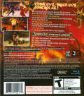 Overlord: Raising Hell PlayStation 3 Back Cover