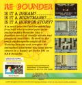 Re-Bounder Commodore 64 Back Cover