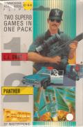 2onOne: L.A. Swat + Panther Atari 8-bit Front Cover