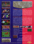 Legends Amiga CD32 Back Cover