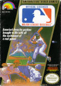 Major League Baseball NES Front Cover