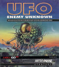 X-COM: UFO Defense Amiga CD32 Front Cover