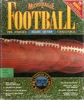 MicroLeague Football: The Coach's Challenge - Deluxe Edition DOS Front Cover