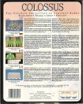 Colossus: The Ultimate Collection of Strategy Games DOS Back Cover