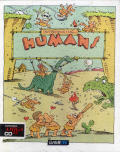 Humans 1 and 2 Amiga CD32 Front Cover