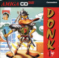 Donk!: The Samurai Duck Amiga CD32 Front Cover