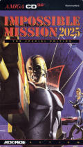 Impossible Mission 2025 Amiga CD32 Front Cover