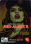 Command & Conquer: Red Alert 3 (Premier Edition) Windows Front Cover Transparent