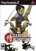 Samurai Western PlayStation 2 Front Cover Reverse side