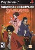 Samurai Champloo: Sidetracked PlayStation 2 Front Cover