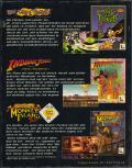 Softgold presents: LucasArts Top Adventures (CD-Rom Edition) DOS Back Cover