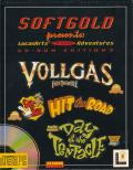 Softgold presents: LucasArts Top Adventures (CD-Rom Edition 2) DOS Front Cover