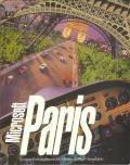 Microsoft Paris: Scenery Enhancement for Microsoft Flight Simulator DOS Front Cover