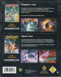 2in1 Pack: Dragon's Lair - Space Ace Windows Back Cover