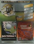 2in1 Pack: Jack Nicklaus 4 - Tennis Manager Windows Front Cover