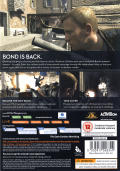 007: Quantum of Solace Windows Back Cover