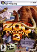 Zoo Tycoon 2: Extinct Animals Windows Front Cover