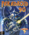Paradroid 90 Amiga Front Cover
