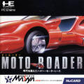 Moto Roader TurboGrafx-16 Front Cover