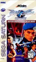 Street Fighter: The Movie SEGA Saturn Front Cover
