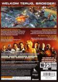 Command & Conquer: Red Alert 3 Xbox 360 Back Cover