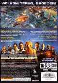 Command & Conquer: Red Alert 3 Xbox 360 Back Cover Reverse