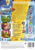 Sonic Heroes Windows Back Cover