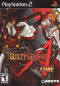 Guilty Gear XX Λ Core PlayStation 2 Front Cover