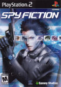 Spy Fiction PlayStation 2 Front Cover