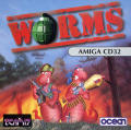 Worms Amiga CD32 Other Jewel Case - Front