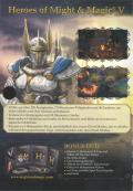 Heroes of Might and Magic V (Gold Edition) Windows Inside Cover Left Flap